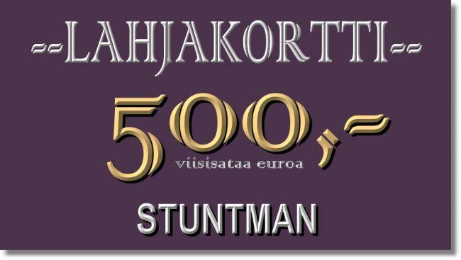 KESÄ ARVONTA 500€ LAHJAKORTTI