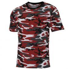 ARMY T-PAITA - red-camo