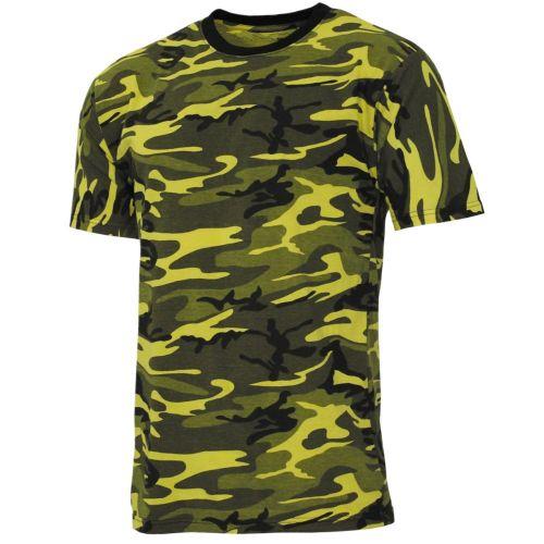 ARMY T-PAITA - yellow-camo