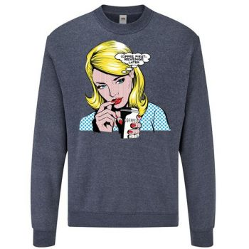 classic COLLEGE Heather Navy - COFFEE FIRST COMIC (661)
