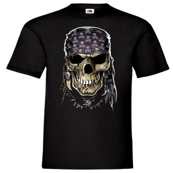 T-PAITA HALLOWEEN PIRATE SKULL (1083)