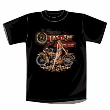 T-PAITA - AMERICAN HERITAGE, LIVE THE LEGEND, RIDE A CLASSIC (608)