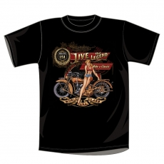T-PAITA - AMERICAN HERITAGE, LIVE THE LEGEND, RIDE A CLASSIC (1000)