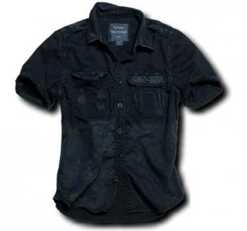 POLETTIPAITA: Surplus -Raw Vintage Shirt (musta)