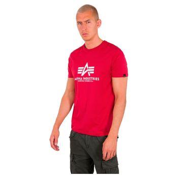 ALPHA T-PAITA atomic red - Basic T-Shirt - ALPHA INDUSTRIES