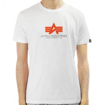 ALPHA T-PAITA maastocamo - Basic T-Shirt Camo - ALPHA INDUSTRIES