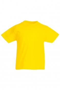 LASTEN VALUEWEIGHT T-PAITA Yellow