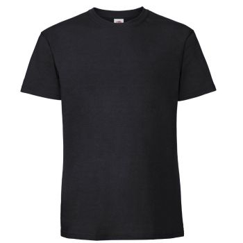 Super Premium T-Paita - BLACK
