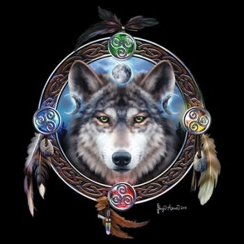 CELTIC WOLF GUIDE (1052)