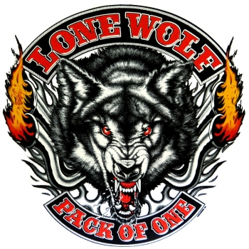 LONE WOLF PACK OF ONE (1070)
