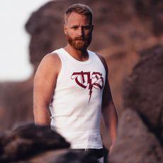 HIHATON VALKOINEN - muscle shirt Aure - THOR STEINAR