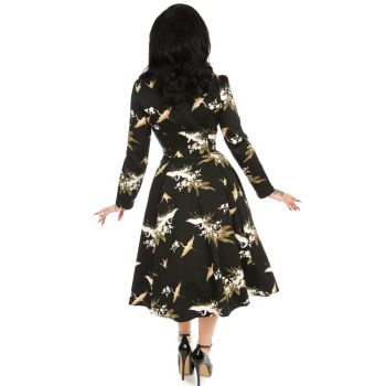KELLOMEKKO - Birdie Floral Swing Dress