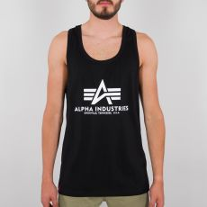 ALPHA HIHATON PAITA musta - Basic Tank BB - ALPHA INDUSTRIES