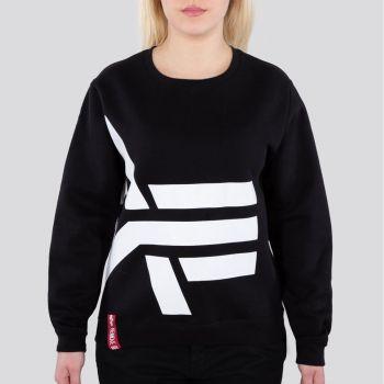 NAISTEN COLLEGEPAITA - Side Logo Sweater - ALPHA INDUSTRIES