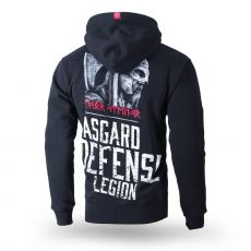VETOKETJUHUPPARI - hooded jacket Asgard Defence BLACK- THOR STEINAR