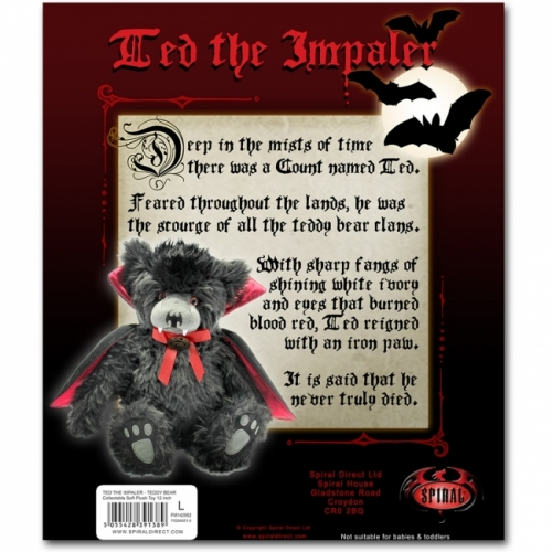 TED THE IMPALER - TEDDY BEAR - SPIRAL (PL001)