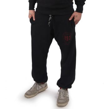 YAKUZA - Through Loose Jogginghose BLACK - COLLEGEHOUSUT