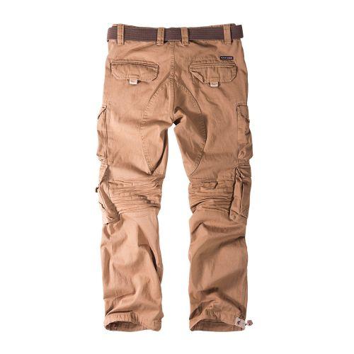 cargo trousers KEN sand -  THOR STEINAR - pituus 34