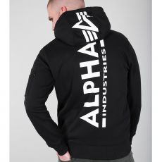 ALPHA HUPPARI - Back Print Hoody - ALPHA INDUSTRIES