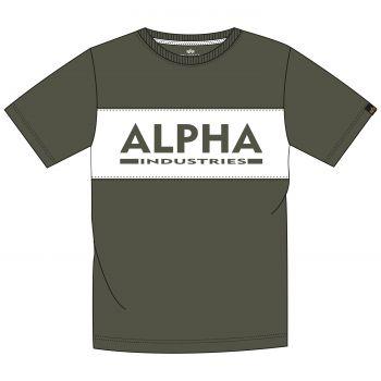 ALPHA T-PAITA darkolive - Alpha Inlay T - ALPHA INDUSTRIES
