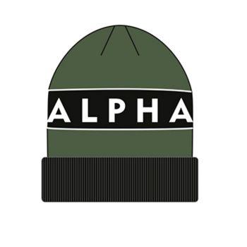 ALPHA PIPO - Block Beanie