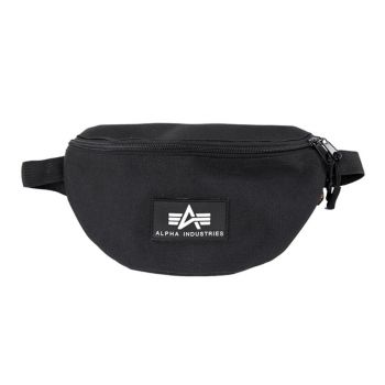 VYÖLAUKKU MUSTA - Rubber Print Waistbag - ALPHA INDUSTRIES