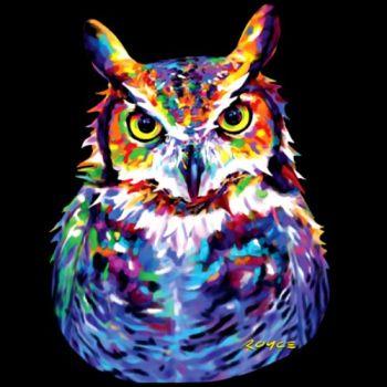 GREAT HORNED OWL (857)