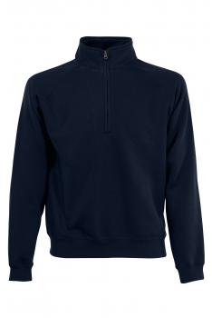 PREMIUM ZIP NECK COLLEGE Deep Navy
