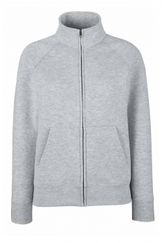 NAISTEN PREMIUM COLLEGE FULL ZIP Heather Grey