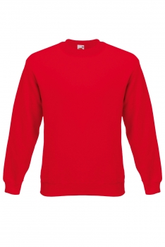 PREMIUM SET-IN SWEAT COLLEGE Red