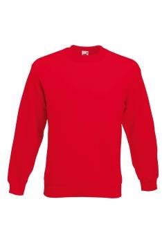 CLASSIC SET-IN SWEAT COLLEGE Red