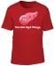 T-PAITA - DETROIT RED WINGS (PUNAINEN) - NHL (NHL8003)