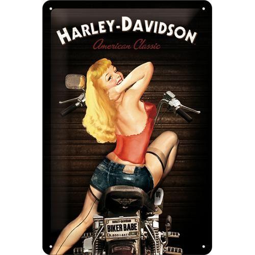 Kilpi 20x30 Harley-Davidson Biker Babe