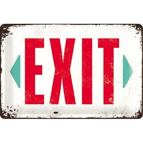 Kilpi 20x30 Exit