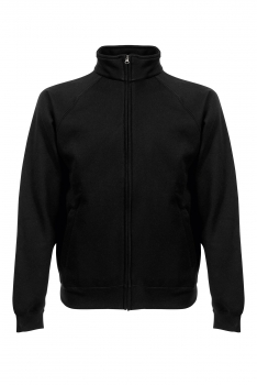 PREMIUM COLLEGE FULL ZIP Black