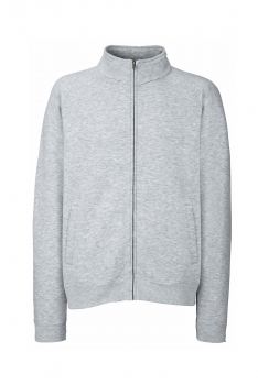 PREMIUM COLLEGE FULL ZIP Heather Grey