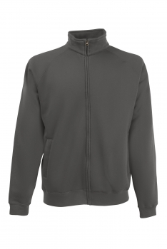 PREMIUM COLLEGE FULL ZIP Light Graphite