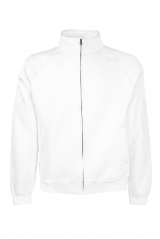 PREMIUM COLLEGE FULL ZIP White