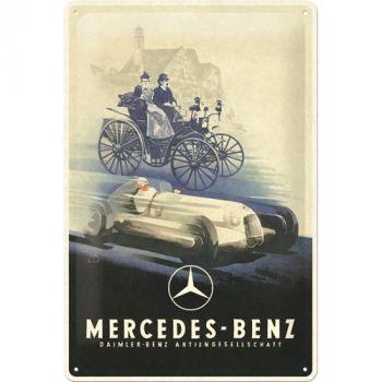 Kilpi 20x30 Mercedes Benz - Silver Arrow Historic