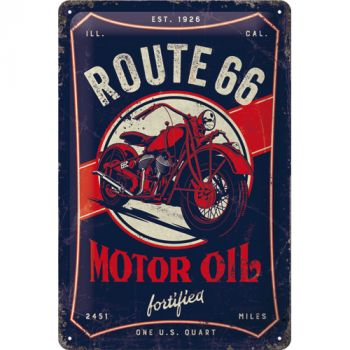 Kilpi 20x30 Route 66 Motor Oil