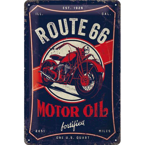 Kilpi 20x30 Route 66 Motor Oil