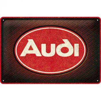 Kilpi 20x30 Audi - Logo Red Shine