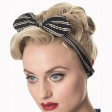 HIUSPANTA - BRANDY HEADSCARF BLACK
