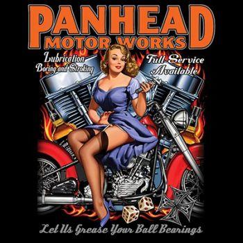 T-PAITA MUSTA SOF TEE - PANHEAD MOTORS (528)