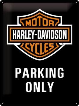 Kilpi 30x40 Harley-Davidson Parking Only