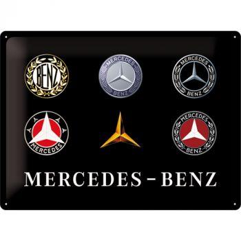 Kilpi 30x40 Mercedes-Benz logot