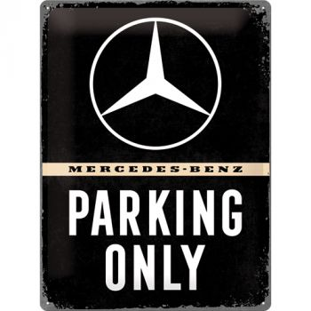 Kilpi 30x40 Mercedes-Benz Parking Only