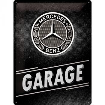 Kilpi 30x40 Mercedes-Benz - Garage