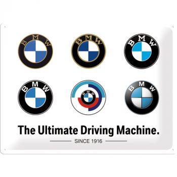 Kilpi 30x40 BMW - Logo Evolution
