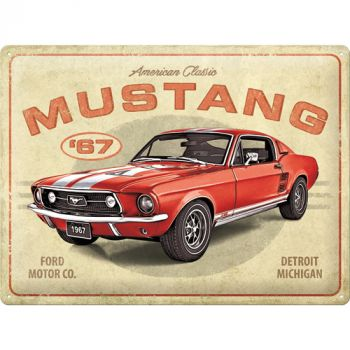 Kilpi 30x40 Ford Mustang - GT1967 Red